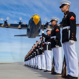 military procession
