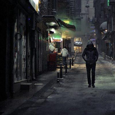 mysterious stranger